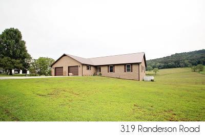 Sparta Single Family Home For Sale: 319 Randerson Lane