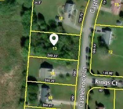 Residential Lots & Land For Sale: 3531 Castlebrook