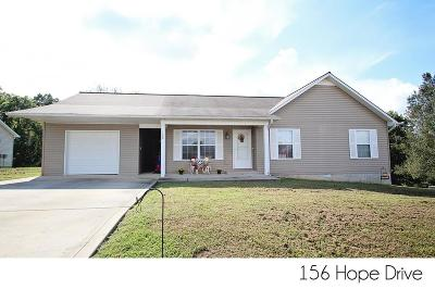 Sparta Single Family Home For Sale: 156 Hope Drive
