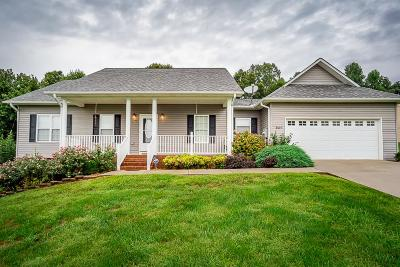 Cookeville Single Family Home For Sale: 3607 Brookstone Dr