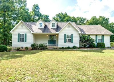 Crossville Single Family Home For Sale: 1667 Sunset Ridge Dr
