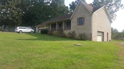 Cookeville Single Family Home For Sale: 1647 Apple Valley Drive
