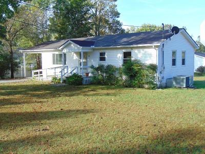 Cookeville TN Single Family Home For Sale: $109,500