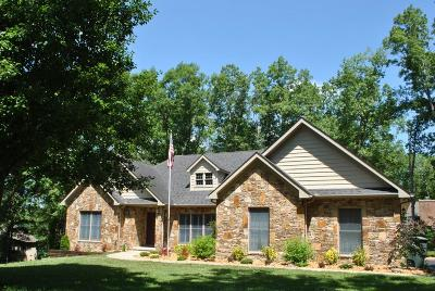 Crossville Single Family Home For Sale: 63 Albatross Circle