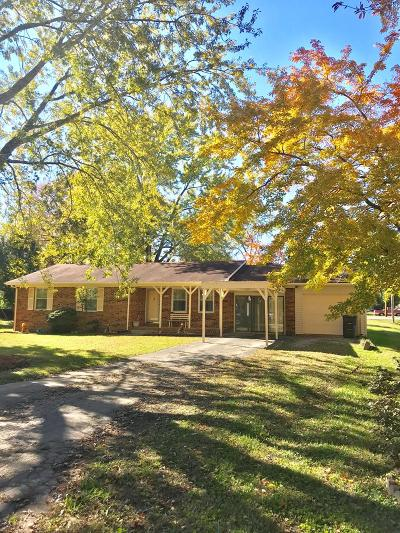 Cookeville Single Family Home For Sale: 1200 Park Drive