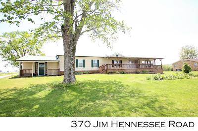 SPARTA Single Family Home For Sale: 370 Jim Hennessee Rd