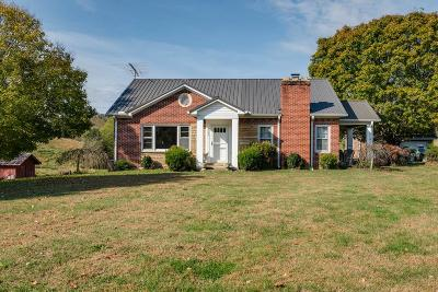 Bloomington Springs, Cookeville, Gainesboro, Granville, Hilham, Whitleyville Single Family Home For Sale: 2362 Free State Road