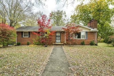 Cookeville Single Family Home For Sale: 743 Old Walton Road