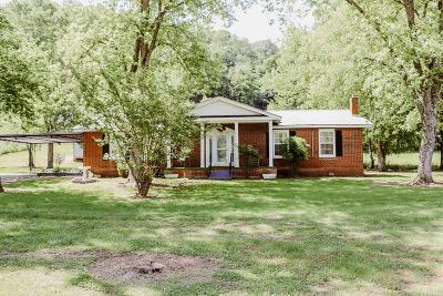 Bloomington Springs, Cookeville, Gainesboro, Granville, Hilham, Whitleyville Single Family Home For Sale: 12320 Dodson Branch Highway