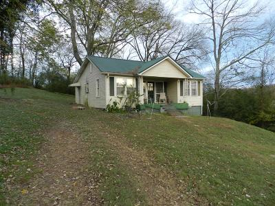 Gainesboro Single Family Home For Sale: 135 Big Bottom Road
