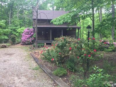 Allardt, Clarkrange, Grimsley, Jamestown, Monterey Single Family Home For Sale: 111 Huckleberry Drive