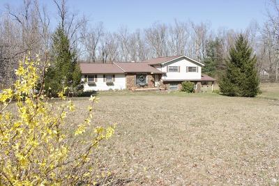 Monterey Single Family Home For Sale: 17254 Crossville Hwy.
