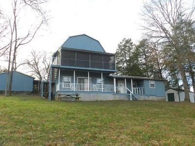 Gainesboro Single Family Home For Sale: 552 Happy Mountain Road