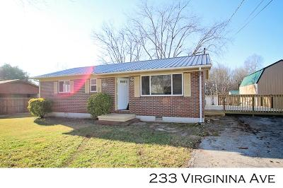 Sparta Single Family Home For Sale: 233 Virginia Ave