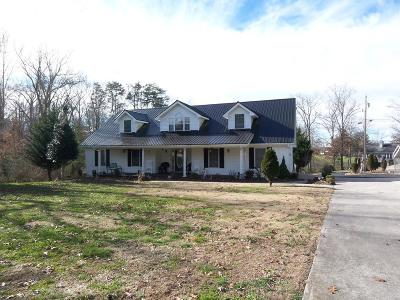 Crossville Single Family Home For Sale: 3131 Seminole