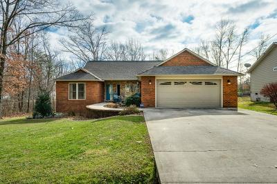 Crossville Single Family Home For Sale: 3204 Warpath