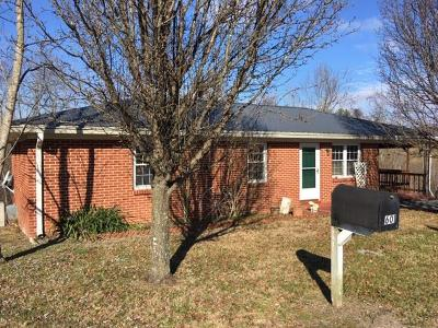 Gainesboro Single Family Home For Sale: 601 Harmony Rd