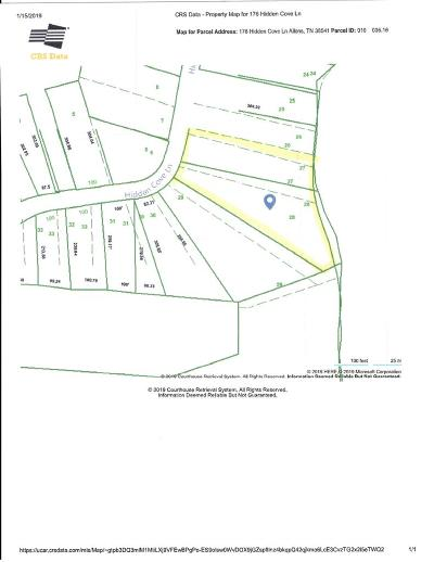Allons Residential Lots & Land For Sale: 176 Hidden Cove Lane