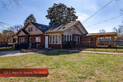 Sparta Single Family Home For Sale: 125 S. Main Street