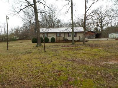 Cookeville Single Family Home For Sale: 7854 Hilham Road