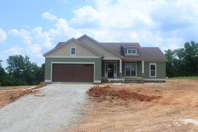 Cookeville Single Family Home For Sale: Lot 32 Crooked Creek Drive