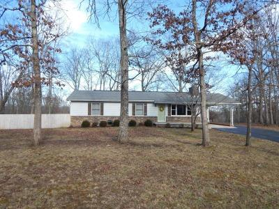 Crossville TN Single Family Home For Sale: $189,900