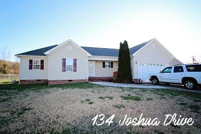 Sparta Single Family Home For Sale: 134 Joshua Drive