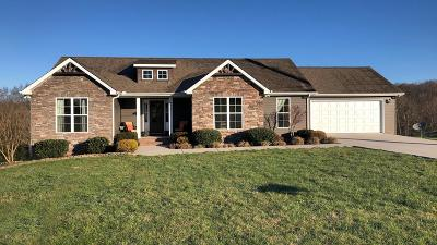 Cookeville Single Family Home For Sale: 4988 Cedar Creek Circle