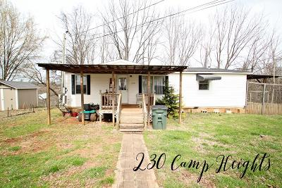 Sparta Single Family Home For Sale: 230 Camp Heights