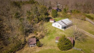 Gainesboro Single Family Home For Sale: 800 Chaffin Hill Rd