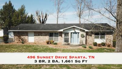 Sparta Single Family Home For Sale: 496 Sunset Drive