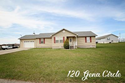 Sparta Single Family Home For Sale: 120 Gena Circle