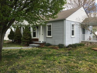 Cookeville TN Single Family Home For Sale: $122,000