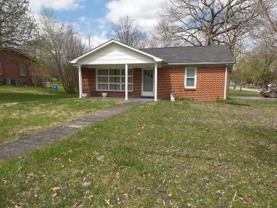 Cookeville Single Family Home For Sale: 646 E Jere Whitson Road
