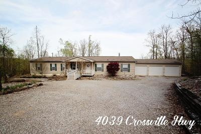 Sparta Single Family Home For Sale: 4039 Crossville Highway
