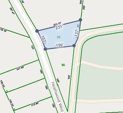 Residential Lots & Land For Sale: 1009 Heathwood West Dr.