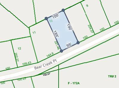 Cookeville Residential Lots & Land For Sale: 1237 Bear Creek Pointe