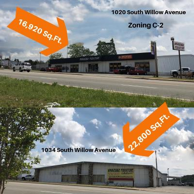Cookeville, Baxter Commercial For Sale: 1020 1034 South Willow Avenue
