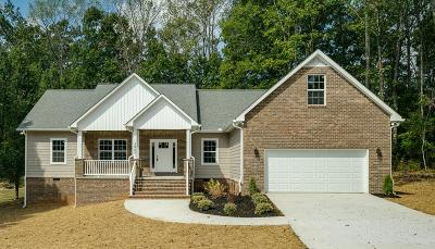 Cookeville Single Family Home For Sale: 3907 Stonewall Drive