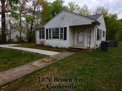 Cookeville TN Single Family Home For Sale: $725