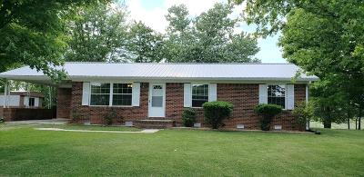 Baxter Single Family Home For Sale: 10545 Cookeville Boatdock Road