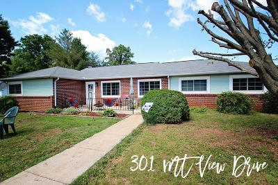 Sparta Single Family Home For Sale: 301 Mount View Drive