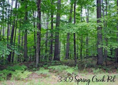 Residential Lots & Land For Sale: 3309 Spring Creek Rd.