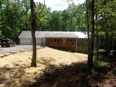 Monterey Single Family Home For Sale: 375 E Cove Road