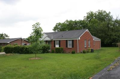 Cookeville Single Family Home For Sale: 332 E. 16th Street