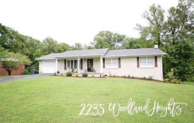 Cookeville Single Family Home For Sale: 2235 Woodland Heights