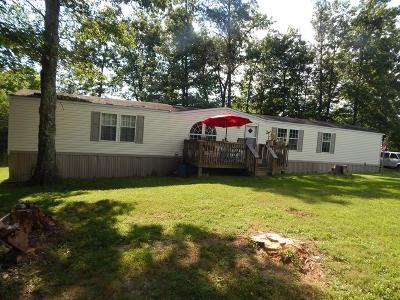 Crossville Single Family Home For Sale: 643 Claysville Rd.