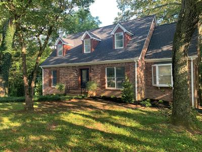 Cookeville Single Family Home For Sale: 836 Forest Hills