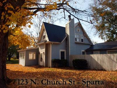 Sparta Single Family Home For Sale: 123 Church St.