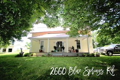 Sparta Single Family Home For Sale: 2660 Blue Springs Road